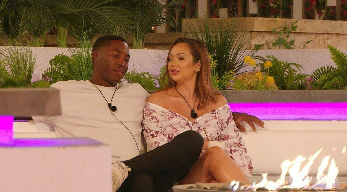 Love Islands Aaron fears Sharons red flags as couple face off over Hugo drama