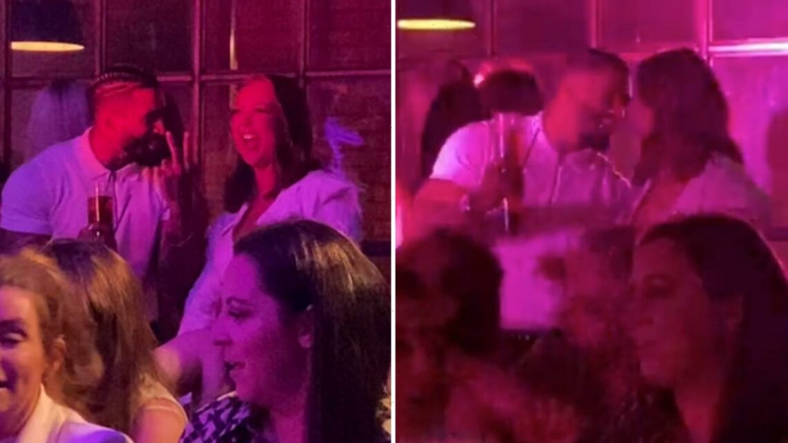 Love Island's Michael Griffiths spotted looking close with dumped Sharon Gaffka at lap dancing club