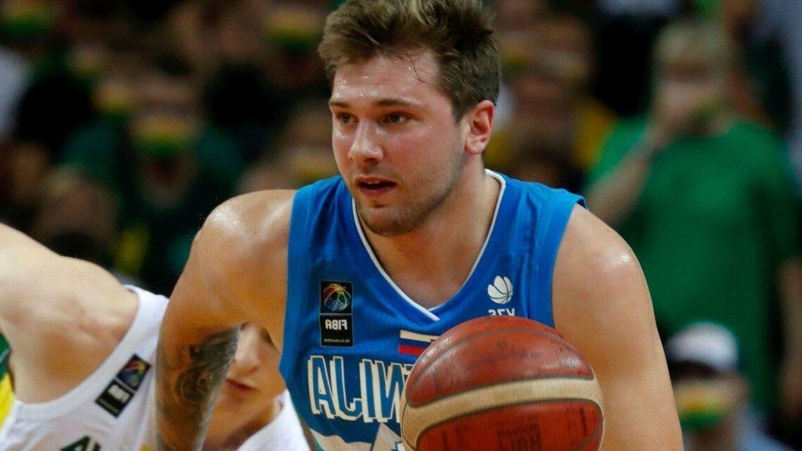 MVP Luka leads Slovenia to its 1st Olympics berth