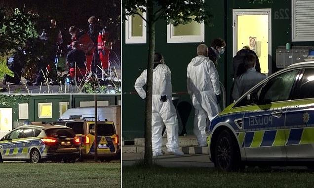 Man is stabbed to death at German refugee centre 'by Afghan man'