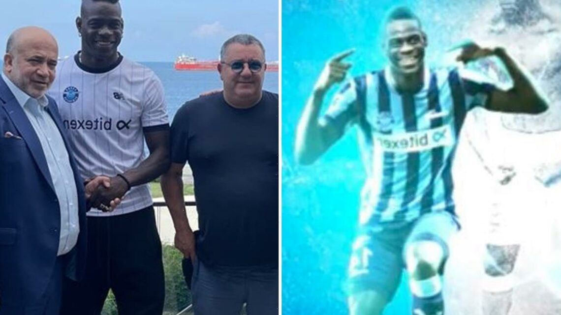 Mario Balotelli completes free transfer to Adana Demirspor as he plots route back into Italy squad