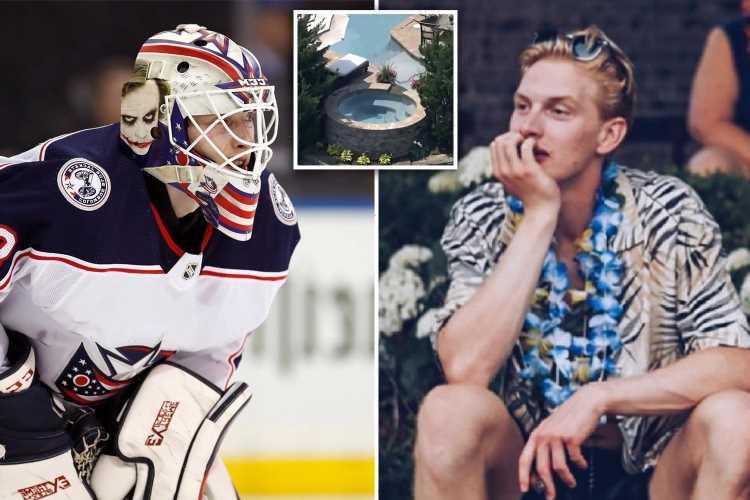 Matiss Kivlenieks 911 call reveals moment Blue Jackets goalie 'started convulsing' after being fatally hit by firework