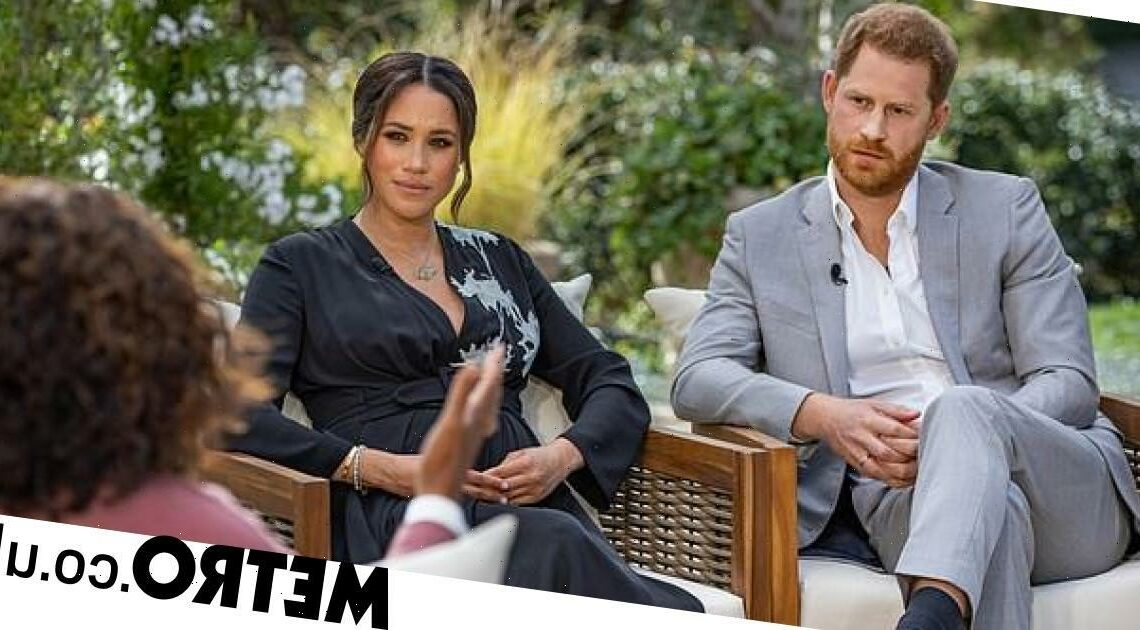 Meghan Markle and Prince Harry's bombshell Oprah interview lands Emmy nomination