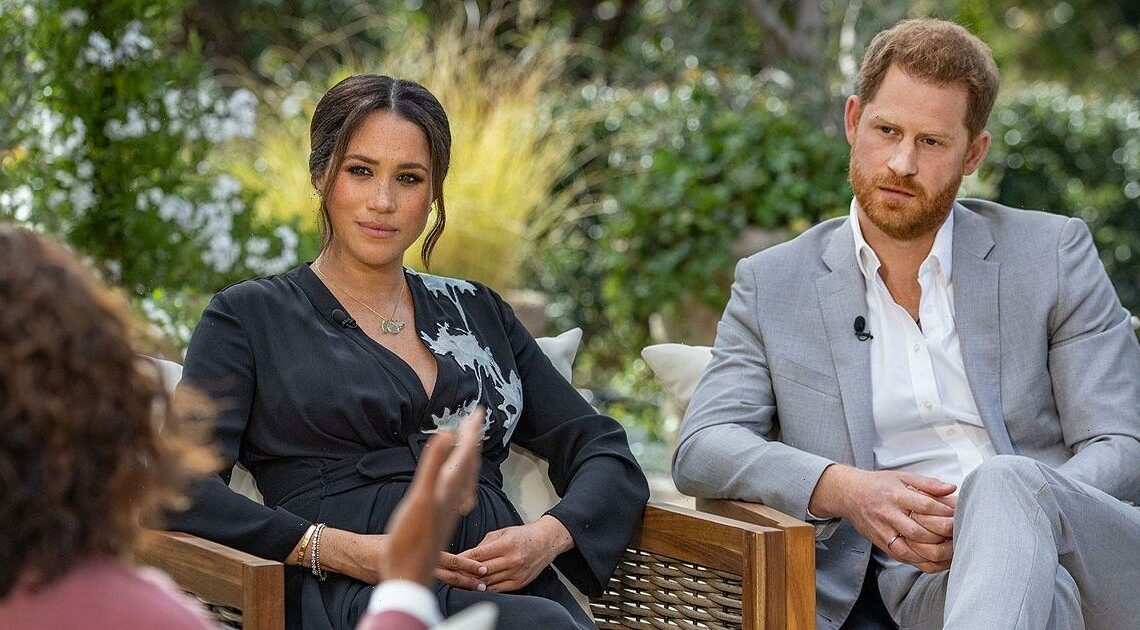 Meghan Markle and Prince Harry's bombshell Oprah interview nominated for an Emmy