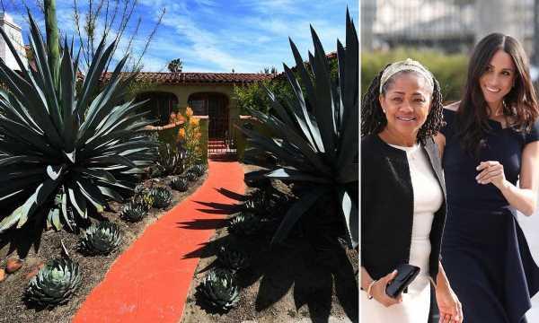 Meghan Markle's mother Doria Ragland's LA house could be a tropical villa