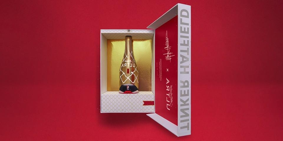 """Michelob ULTRA and Tinker Hatfield Unveil Collaborative """"Not For Sale"""" NBA Championship Bottle"""