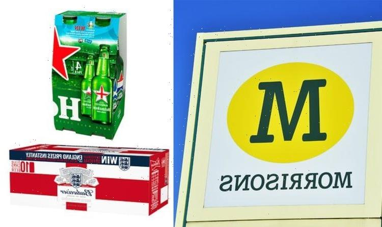 Morrisons launch flash sale on beer, cider, wine ahead of Euros game