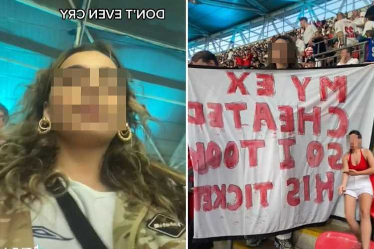 My football-mad boyfriend cheated on me – so I took his ticket to Euro 2020 final & shamed him on national TV
