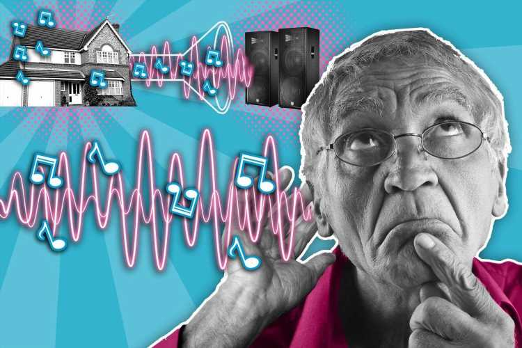 Mystery sounds are like somebody is transmitting noise into our home