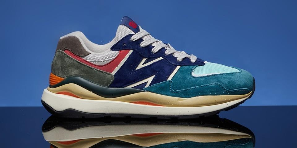 """New Balance 57/40 Arrives in """"Light Cliff Grey"""" and """"Velocity Red"""""""