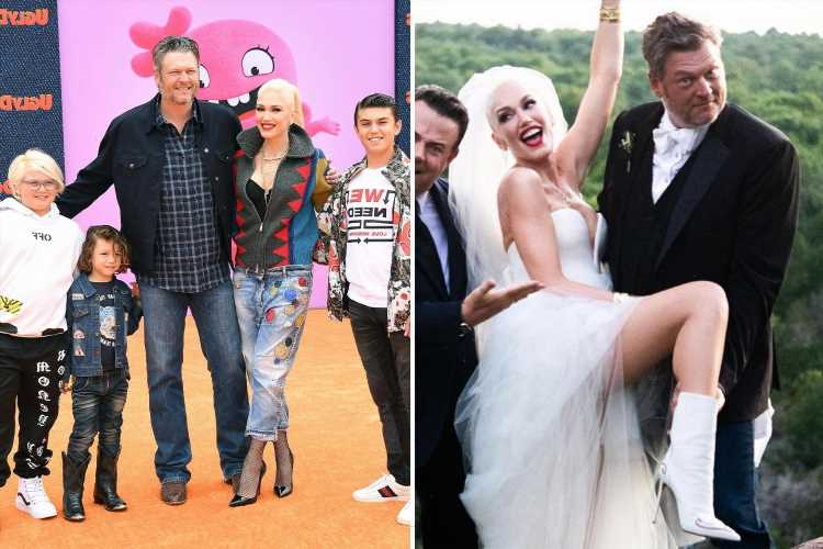 Newlyweds Gwen Stefani, 51, & Blake Shelton, 45, 'are talking about having a baby together' and she 'wants a daughter'