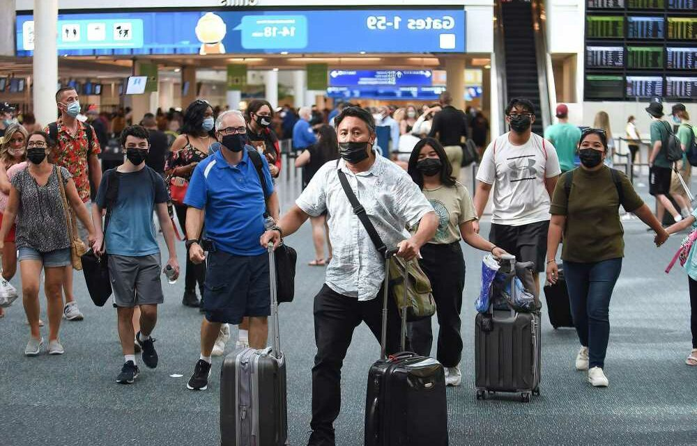Number of July 4th air travelers flies past 2019's pre-pandemic tally