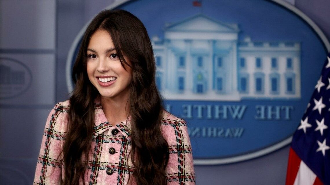 Olivia Rodrigo Visits White House to Encourage COVID Vaccinations