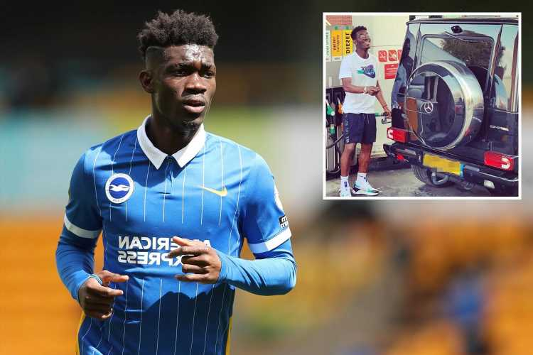Premiership player Yves Bissouma caught breaking the 30mph limit FIVE times over six weeks – by the same camera