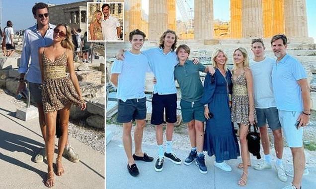 Princess Olympia of Greece holidays with boyfriend Peregrine Pearson