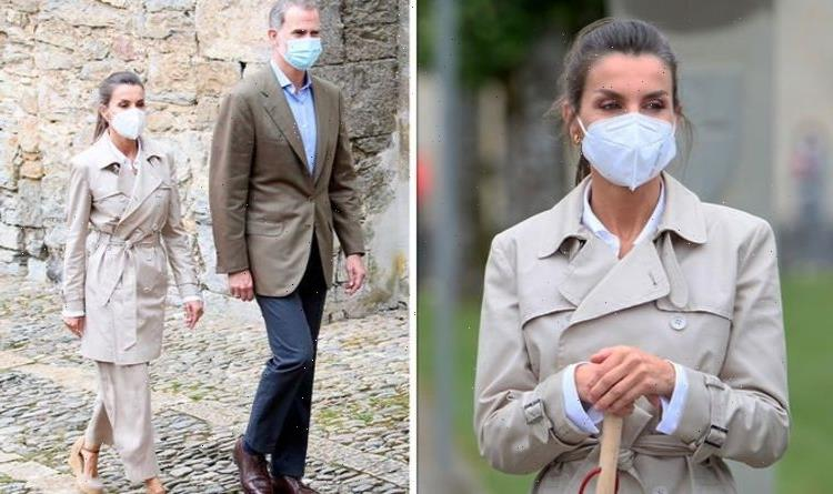 Queen Letizia's 'chic' pilgrim look 'very extravagant' compared to Kate's country style