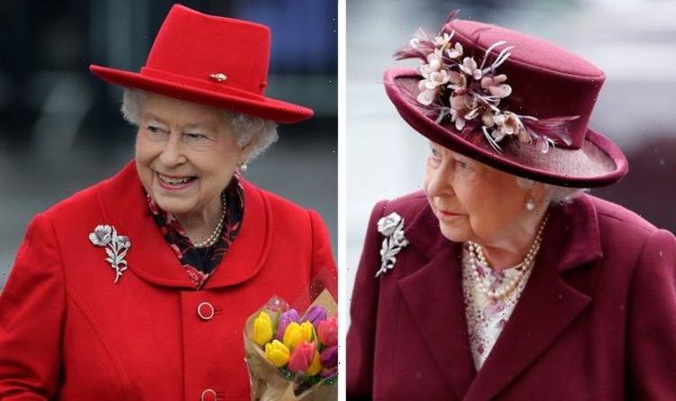 Queen's brooches: Australian hibiscus represents relationship with both nation and nature