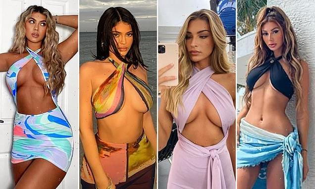 Risque wrap tops are set to be the hottest trend of the summer