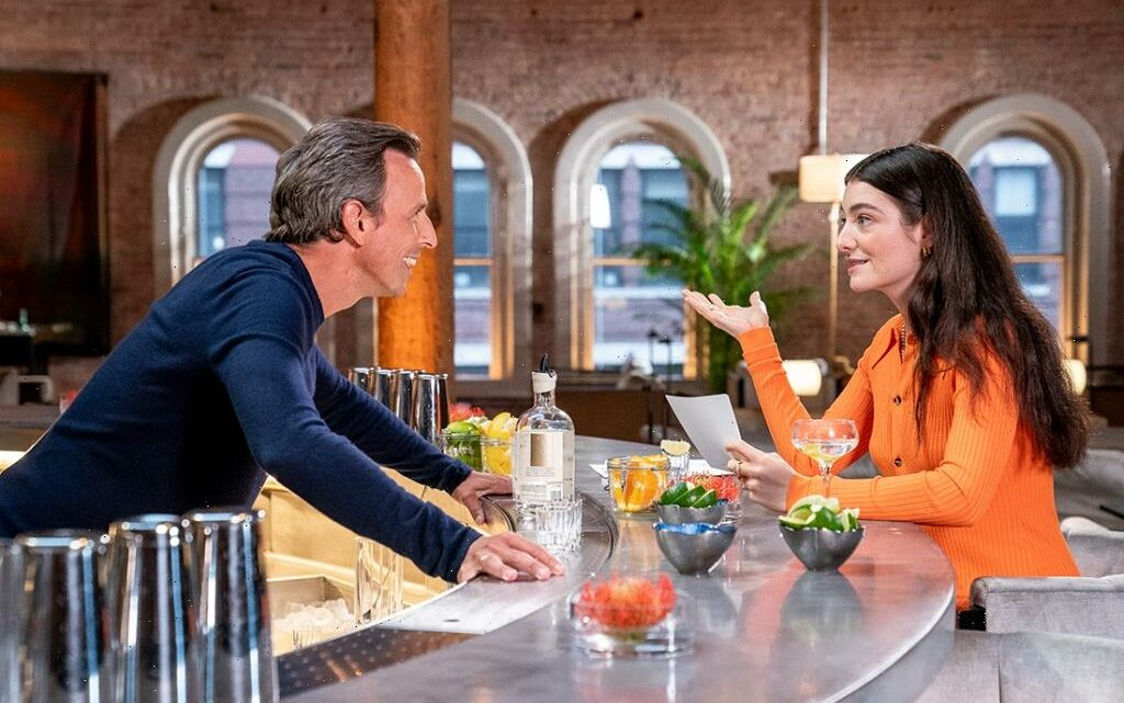 Seth Meyers Goes Day Drinking With Lorde As 'Late-Night' Brings Back Full Musical Performance For First Time Since March 2020