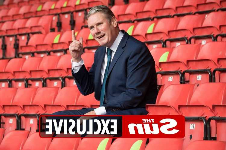 Sir Keir Starmer blags two Euros final freebies despite Labour warning about Wembley crowds