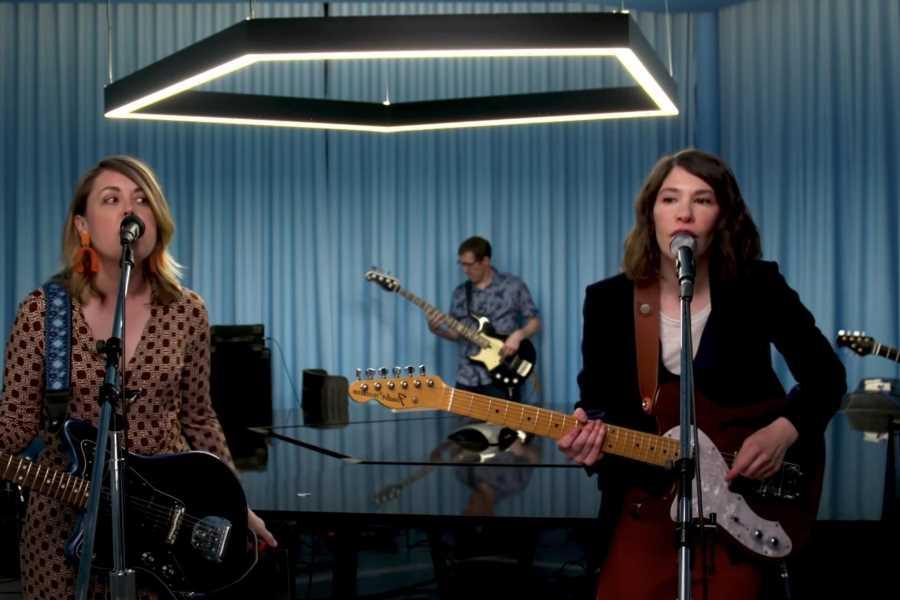 Sleater-Kinney Perform 'Path of Wellness' Tracks for NPR's 'Tiny Desk'