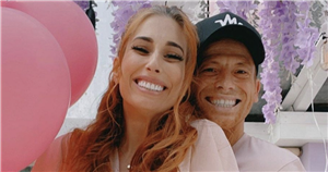 Stacey Solomon gets emotional as she buys first items for baby girls nursery