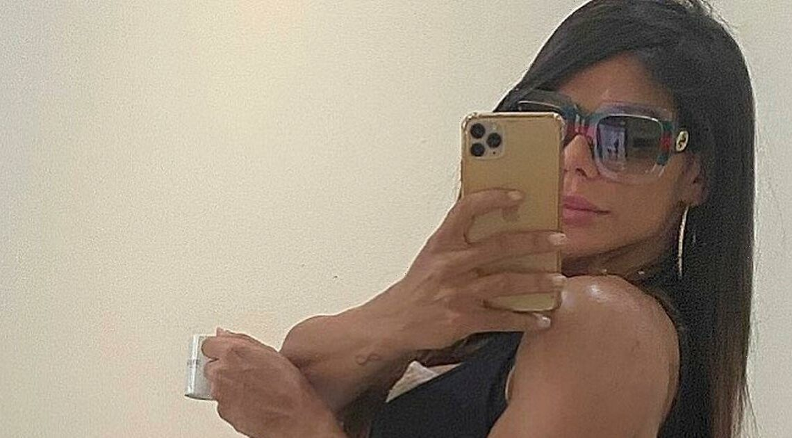 Suzy Cortez gets another bum tattoo in honour of Messi's Copa America victory