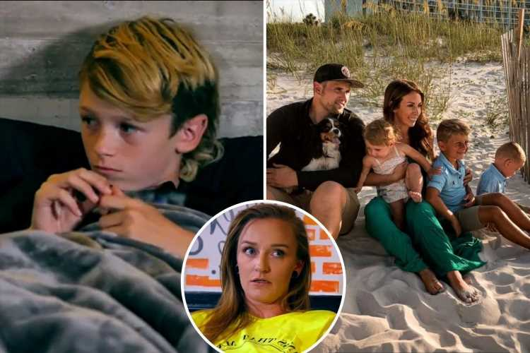 Teen Mom's Ryan Edwards poses with wife Mackenzie & kids for family photo without son Bentley after Maci Bookout feud