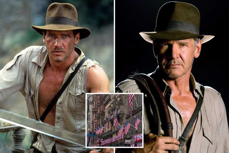 Teen boy, 17, arrested after 'disturbance' during Indiana Jones filming in Glasgow