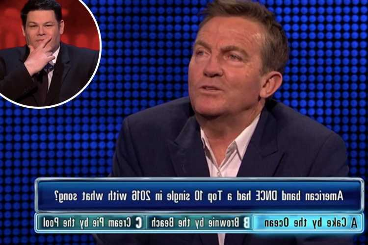 The Chase shock as Bradley Walsh offers INCREDIBLY X-rated answer as fans struggle to contain giggles at NSFW