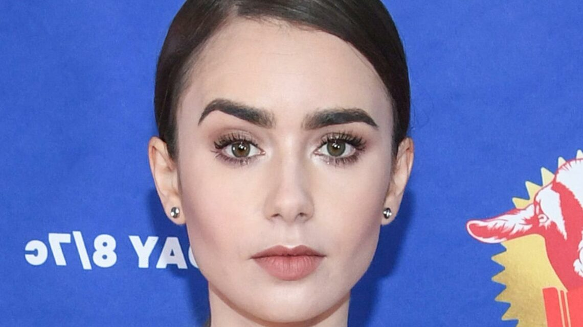 The Drugstore Blush That Lily Collins' Makeup Artist Swears By