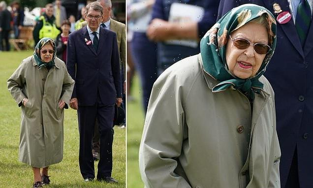 The Queen visits the Royal Windsor Horse show after her Scotland trip