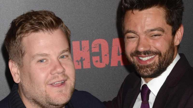 The Truth About James Corden And Dominic Cooper's Time As Roommates
