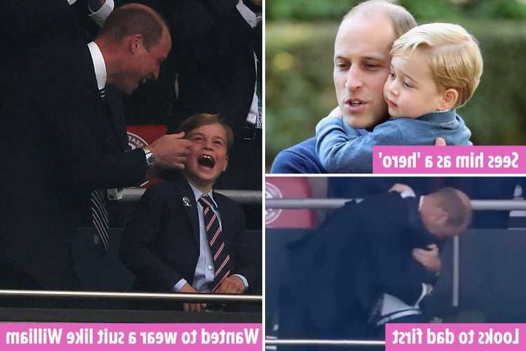 The signs Prince George idolises 'nurturing' William, who has turned his back on 'cold' parenting royals were famous for