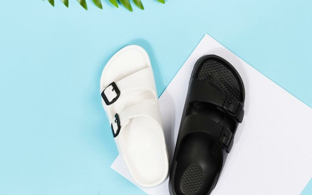 These $18 Amazon Slides Are the Ultimate Summer Sandals & Feel Like a Cloud