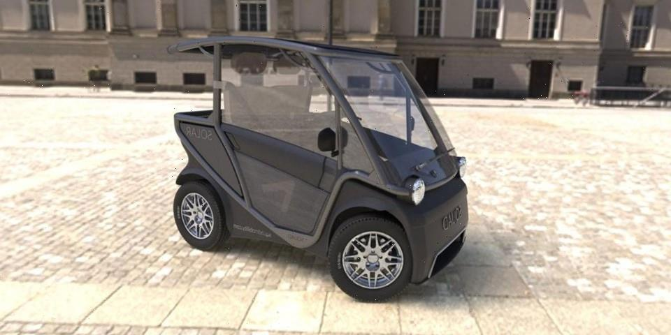 This $6,800 USD Car Is Powered Entirely by Sunlight