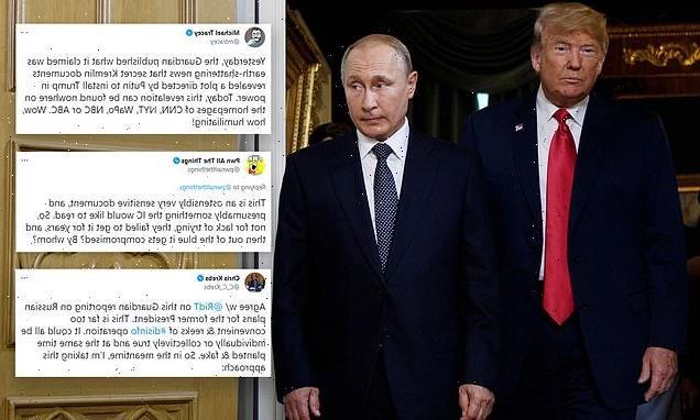 US media remains strangely silent on UK newspaper's Trump-Putin report