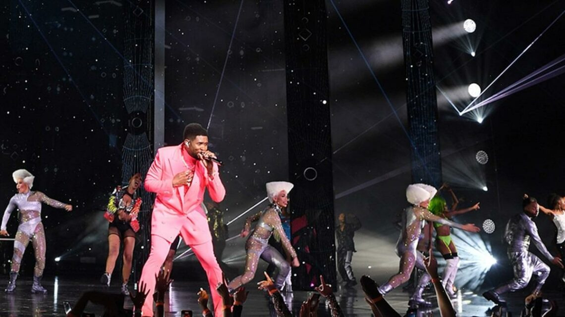 Usher Opens Vegas Residency with a Bang, Turns Into Sing-Along
