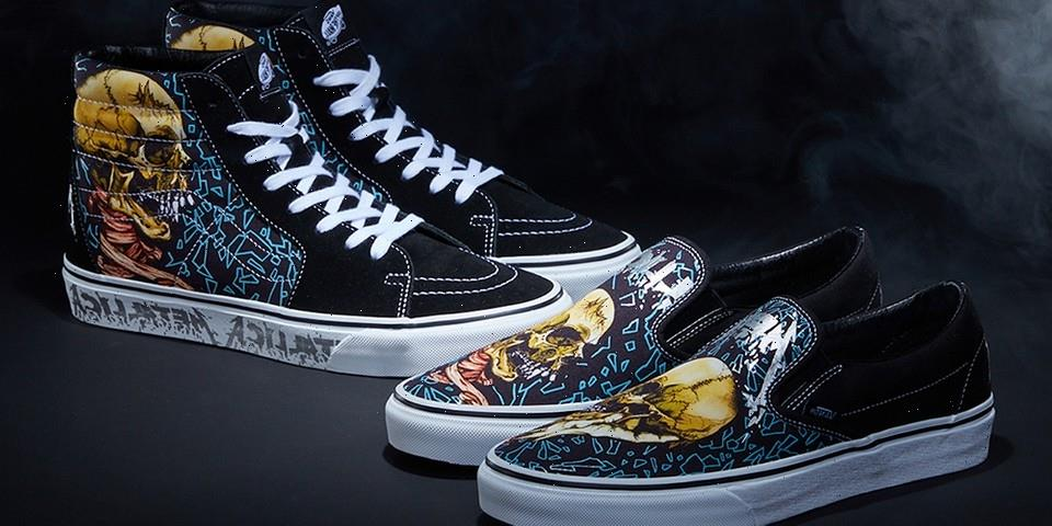 Vans and Metallica Come Together to Mark 30 Years of the 'Black Album'