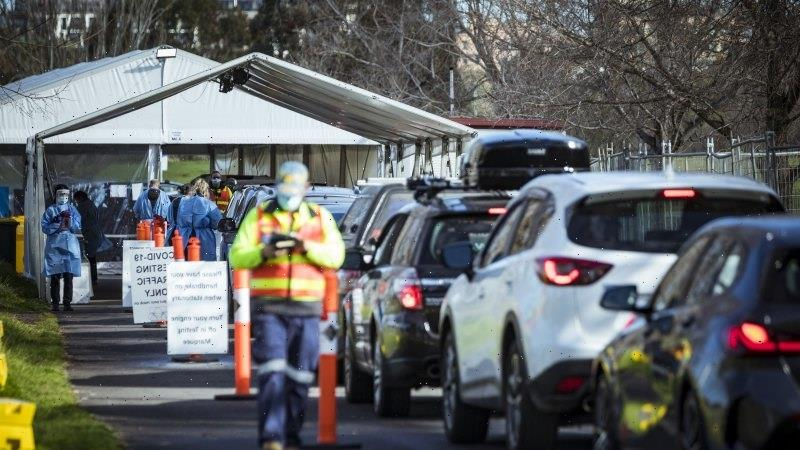 Victoria records six new cases as fifth lockdown begins