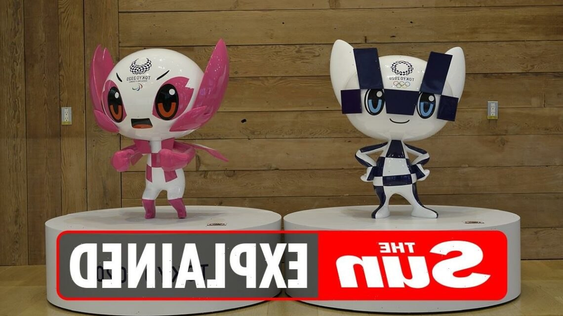 What is the Olympic Games Tokyo 2020 mascot?
