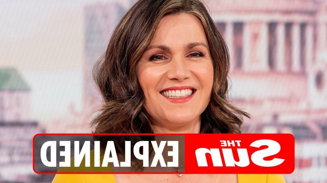 Where is Susanna Reid and who will replace her on GMB?