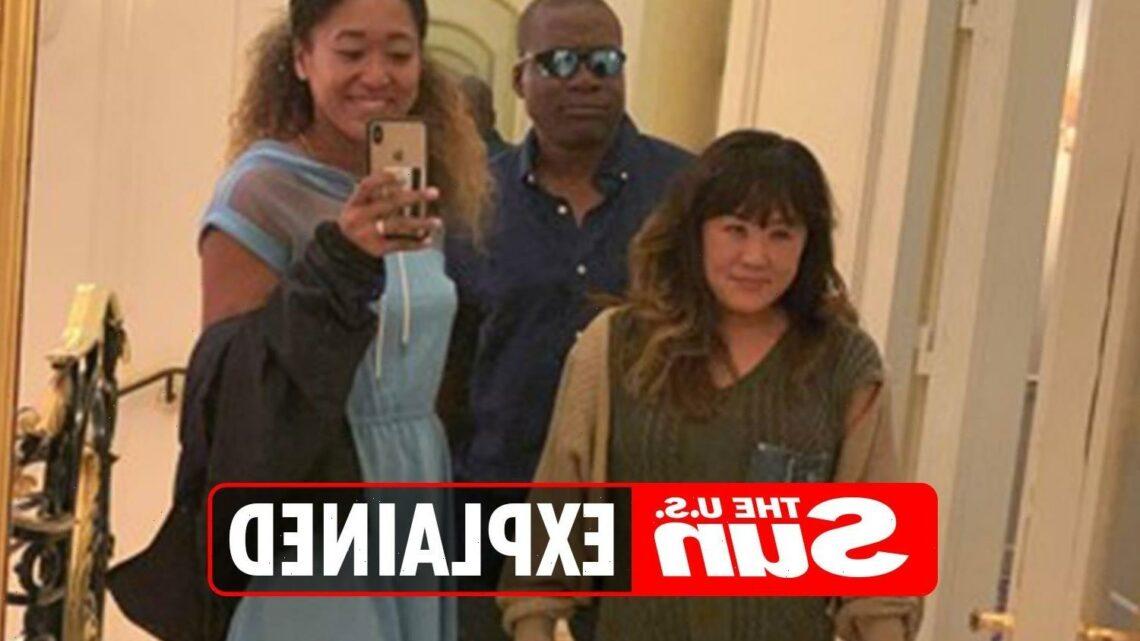 Who are Naomi Osaka's parents?
