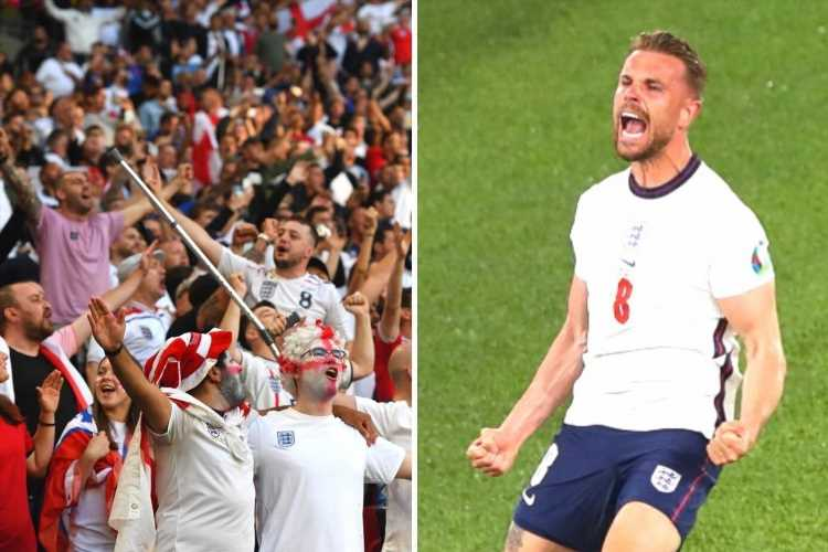 Why do England fans sing Sweet Caroline against Denmark and in Euro 2020 matches? What are the lyrics?