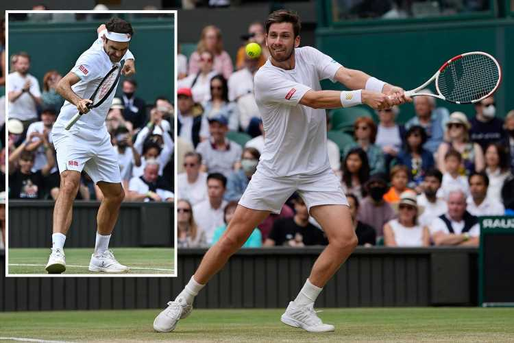 Wimbledon 2021: Roger Federer beats Cameron Norrie as final male Brit tumbles out at SW19