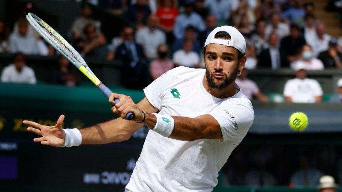 Wimbledon finalist Matteo Berrettini joins exodus from Tokyo 2020