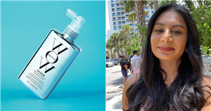 With Color Wow's Dream Coat Spray, My Hair Was Frizz-Free Even in Miami's Humidity