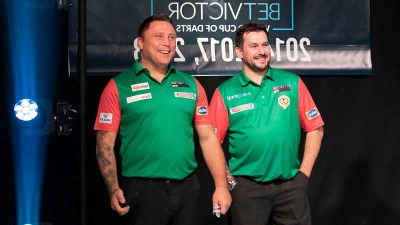 World Cup partners Gerwyn Price and Jonny Clayton poised for World Matchplay showdown