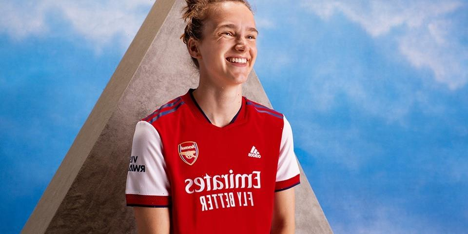adidas Unveils Arsenal's New Home Kits for the 2021-2022 Season