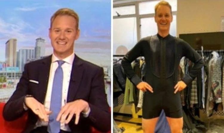 'I've never felt so exposed' Dan Walkers details Strictly Come Dancing mishap on first day